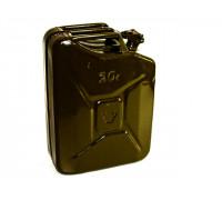 Канистра металлическая 20 литров (зеленая)