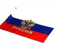 Флаг России на присоске (большой) пластм. ножка (уп-ка 12шт)