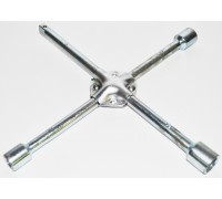 Ключ балонный  'крест' (17-19-21мм+1/2'), усиленный