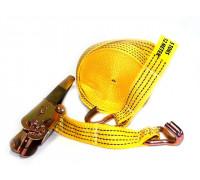 Стяжка ремень для крепления груза ALMEGA 12м. 50мм. (4000кг-8000кг) усиленная стропа