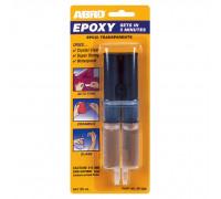 Клей эпоксидный прозрачный в шприце 3мл., ABRO EР-300, США