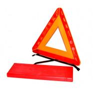 Знак аварийной остановки с аракалом большой (метал.подст., пласт.бокс) ГОСТ, Россия
