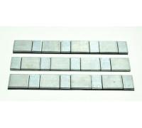 Груз балансировочный самоклеющийся для литых дисков (60 г) плоские  (стальные)