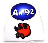 Наклейка на автомобиль 'ВИННИ-ПУХ' (плоттер, вырез., 145*105мм)
