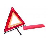 Знак аварийной остановки с аракалом (в пенале, Россия) метал. ножки аналог RFT 06