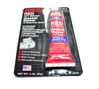 Герметик силиконовый красный 85г ABRO 11-AB-R уп-ка 12шт США