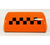 Подсветка 'TАКСИ' большая, 4 магнита, 12В (цвет - оранжевый)