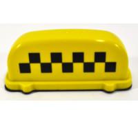 Подсветка 'TАКСИ' малая на магнитах 12В (цвет - желтый)