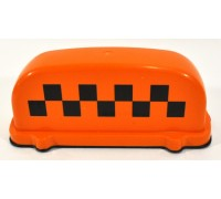 Подсветка 'TАКСИ' малая на магнитах 12В (цвет - оранжевый)