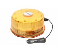 Маячок проблесковый светодиодный на магните 10-30V (стробоскоп) h-80мм, L- 165мм 8-гран в прикурив.