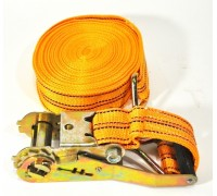 Стяжка ремень для крепления груза 12м. 50мм. ( 2.5т-4т) в пакете