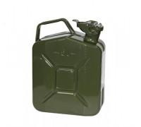 Канистра металлическая 5 литров (зеленая)