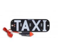 Подсветка 'TAXI'  светодиодная , цвет красный , со штекером в прикуриватель ,  удлиненная