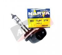 Автолампа H27(881) 12,8V 27W PGJ13 ( в индив. коробке) NARVA 48040