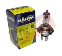 Автолампа H4 12V 60/55W P43t ( в индив. коробке) NARVA 48881