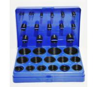 Набор резиновых колец масло-бензостойких (386 предметов) синий кейс
