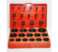 Набор резиновых колец масло-бензостойкие (382 предмета) красный кейс