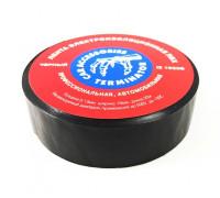 Изолента ПВХ 'TERMINATOR' premium черная 19ммх20м, толщина 0,13мм (уп-ка 250шт)