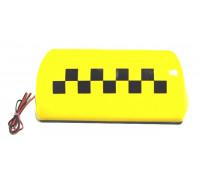 Подсветка 'ТАКСИ' большая, 6 магнитов, 12 В (цвет - желтый)