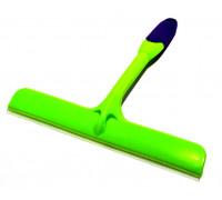 Скребок для сгона воды силиконовый широкий с ручкой
