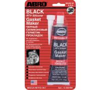 Герметик силиконовый черный 85г ABRO 12-AB-R уп-ка 12шт США