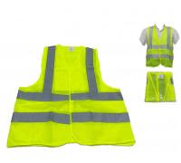 Жилет сигнальный (желтый) 4 СОП ,  3XL 100гр.