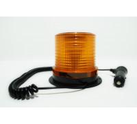 Маячок проблесковый светодиодный на магните 10-30V (стробоскоп) h-100мм, d-85-119мм 30-LED в прикур.