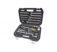 Набор инструментов для авто ЭВРИКА  61 предмет, 1/4'&1/2'DR 6-гранный, ER-80061