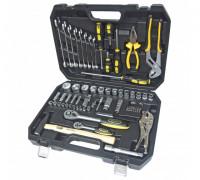 Набор инструментов для авто ЭВРИКА  72 предмета, 1/4'&1/2'DR 6-гранный, ER-80072